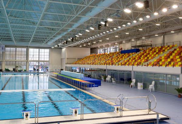 piscina m laga sede juegos del mediterr neo lanik