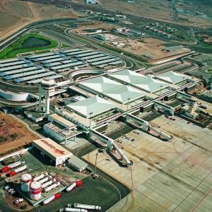 Terminal aeropuerto de Lanzarote