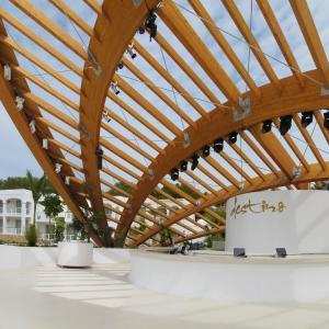 Estructura madera laminada estructuras de madera vigas de - Estructura madera laminada ...